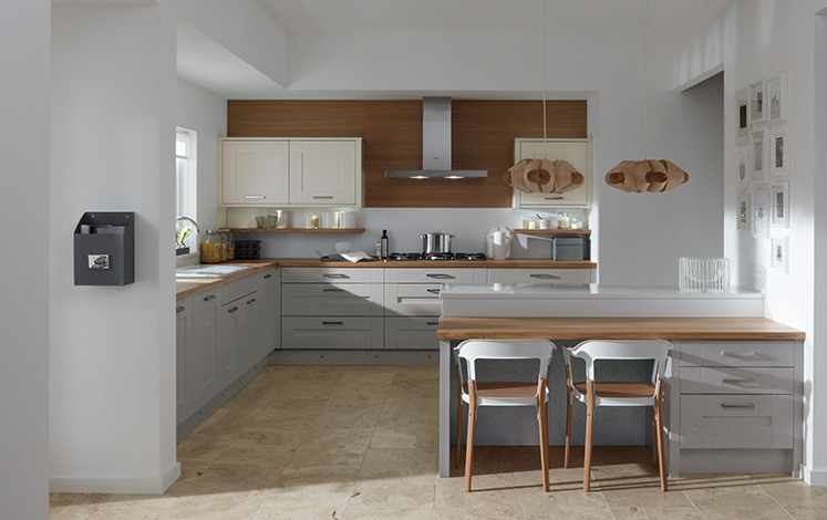 Milbourne Partridge Grey Fitted Kitchen Number One Kitchens